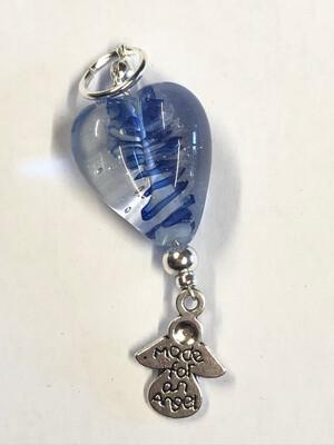 Blue Twist Heart