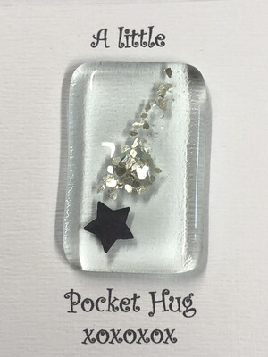 Silver Flakes Star