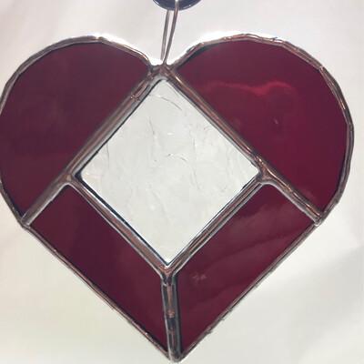 Copper Foil Hearts