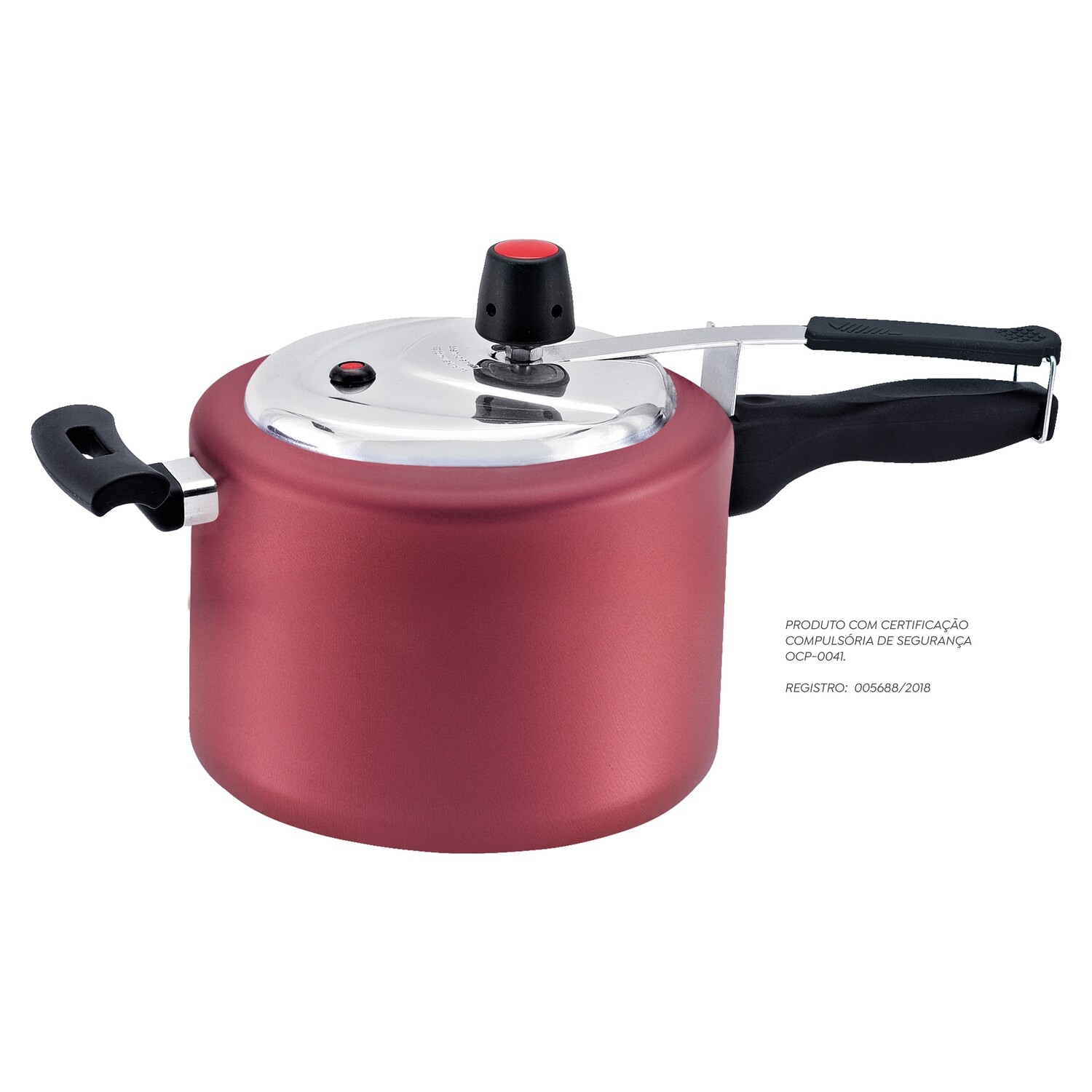 4,5 Non-Stick Turbo Pressure Cooker Cherry