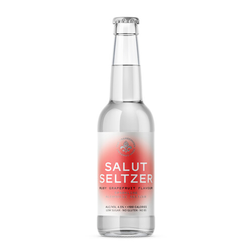 Salut Seltzer - Ruby Grapefruit [Case of 12]