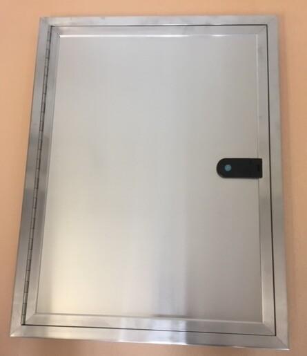 Single Locker Door 36 x 24 Plain/Stucco