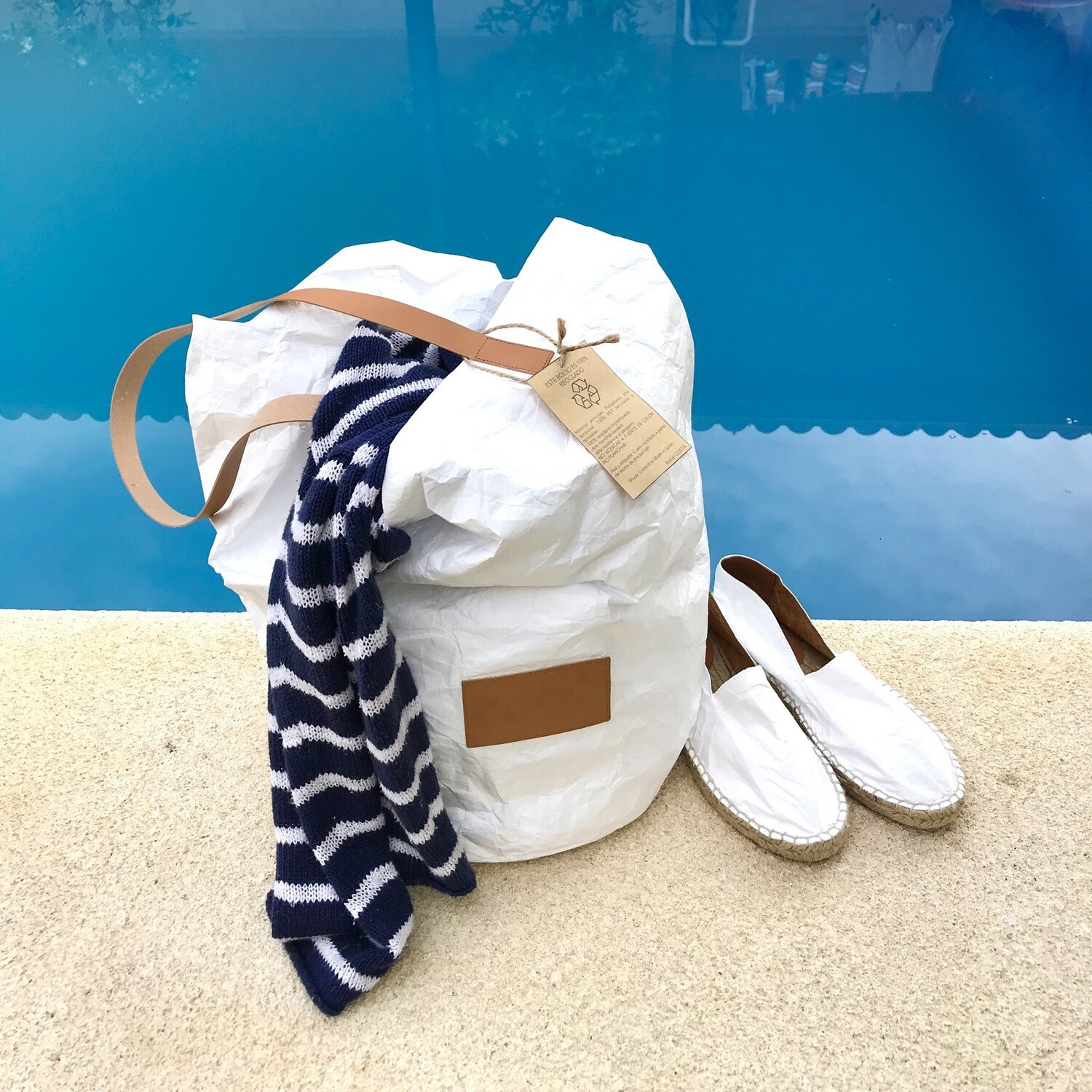 BB BAG white