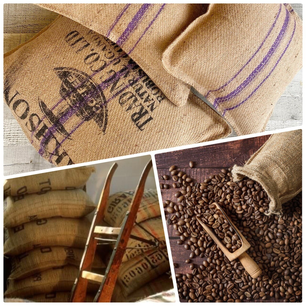 3 CUSHIONS coffee bags