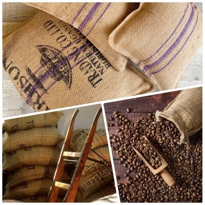Coffee bags cushions