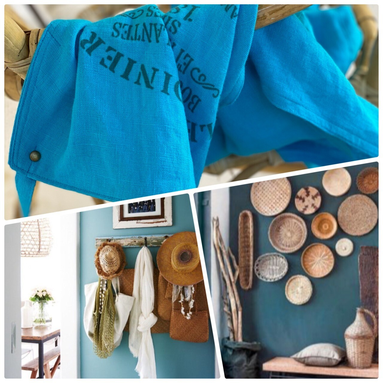 Pure washed linen APRONS