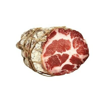 Coppa, dun gesneden, vacuüm verpakt per 150 gr