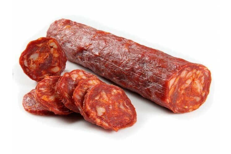 Chorizo, ongesneden, vacuüm verpakt per 300 gr