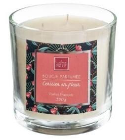 Bougie parfumée Cerisier en Fleur 390 gr
