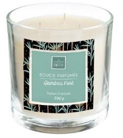 Bougie parfumée Bambou Vert 390 gr