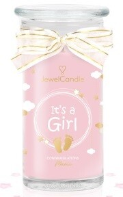 Jewelcandle It's a Girl