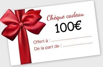 100€ Bon Cadeau à utiliser en Magasin