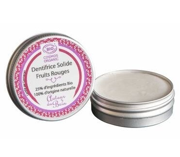 Dentifrice Solide Fruits Rouges 30ml