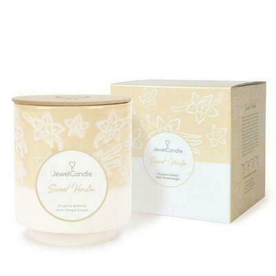 Jewelcandle Sweet Vanilla, Cire 100% végétale 🌿