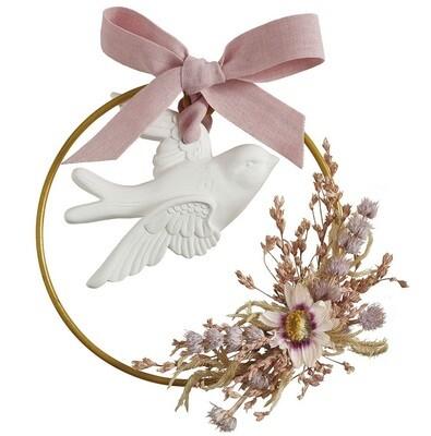 Couronne florale parfumée Marquise