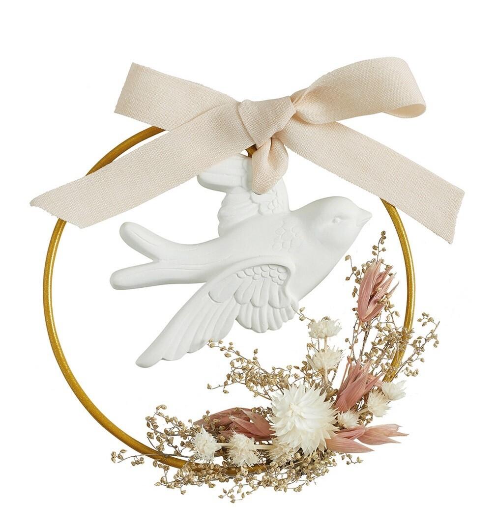 Couronne florale parfumée Astrée