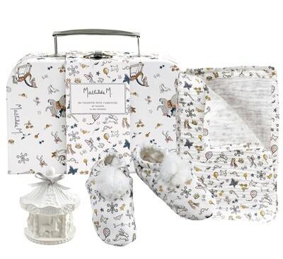 """Valisette Coffret Cadeau """"Mon Petit Carrousel"""""""