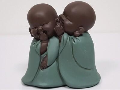 Duo Bouddha Secret 12 cm
