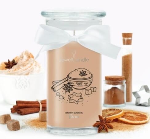 Jewelcandle Brown Sugar & Spices (Exclu revendeur)