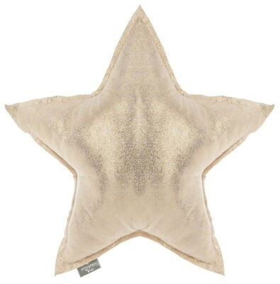 Coussin Etoile Or (45cm)