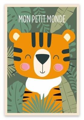 """Toile """"Mon petit monde"""""""