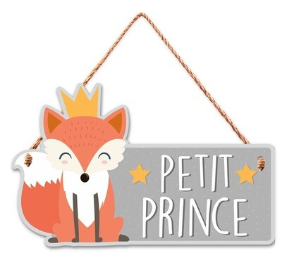 "Pancarte ""Petit Prince"