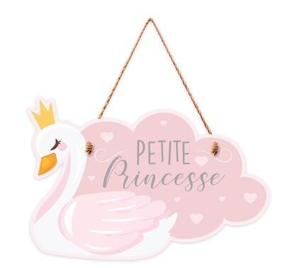 """Pancarte """"petite princesse"""""""