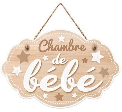 """Pancarte """"Chambre de bébé"""""""