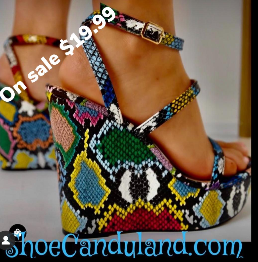 Steppin Tall ( wedge heel)