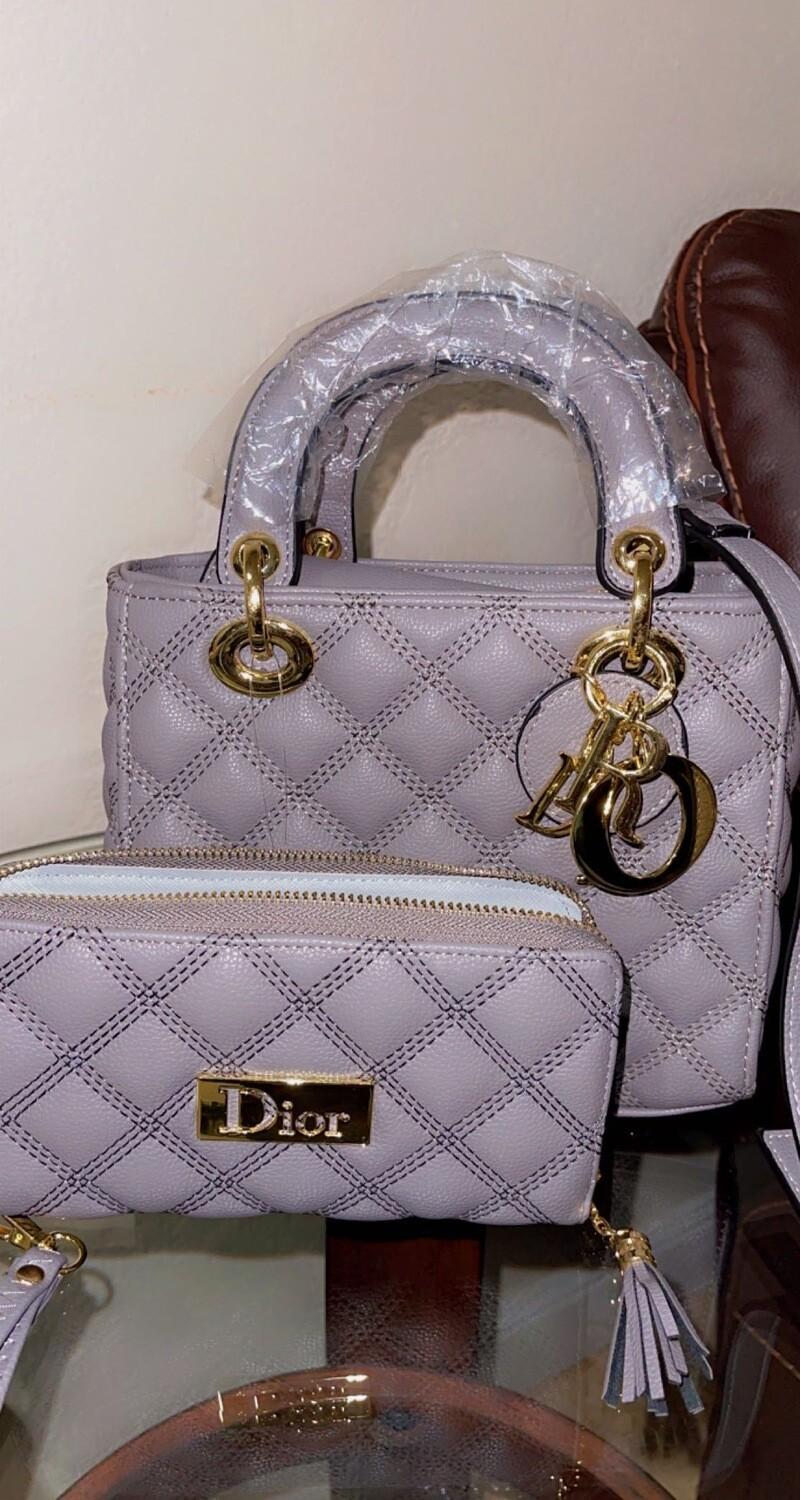 Dior me please with matching wallet