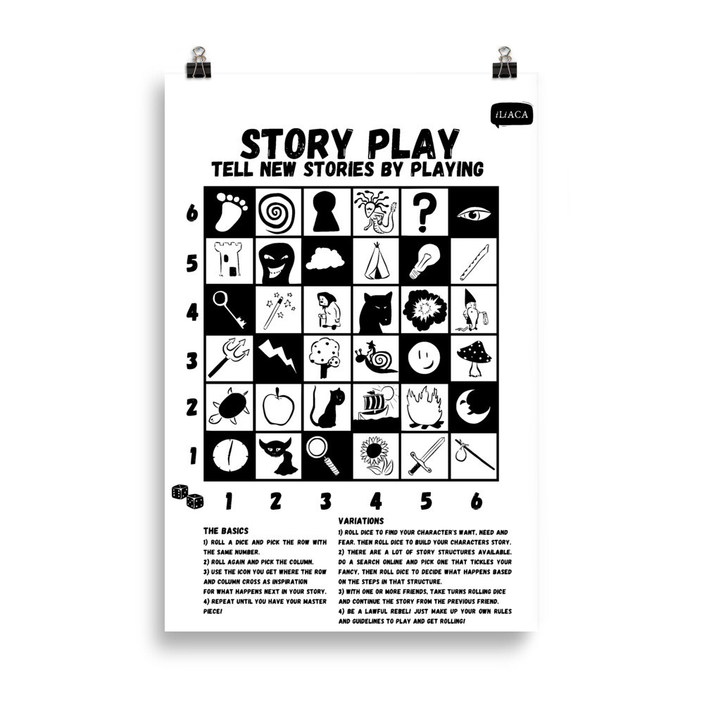 Story Play to Simply Generate New Story Ideas