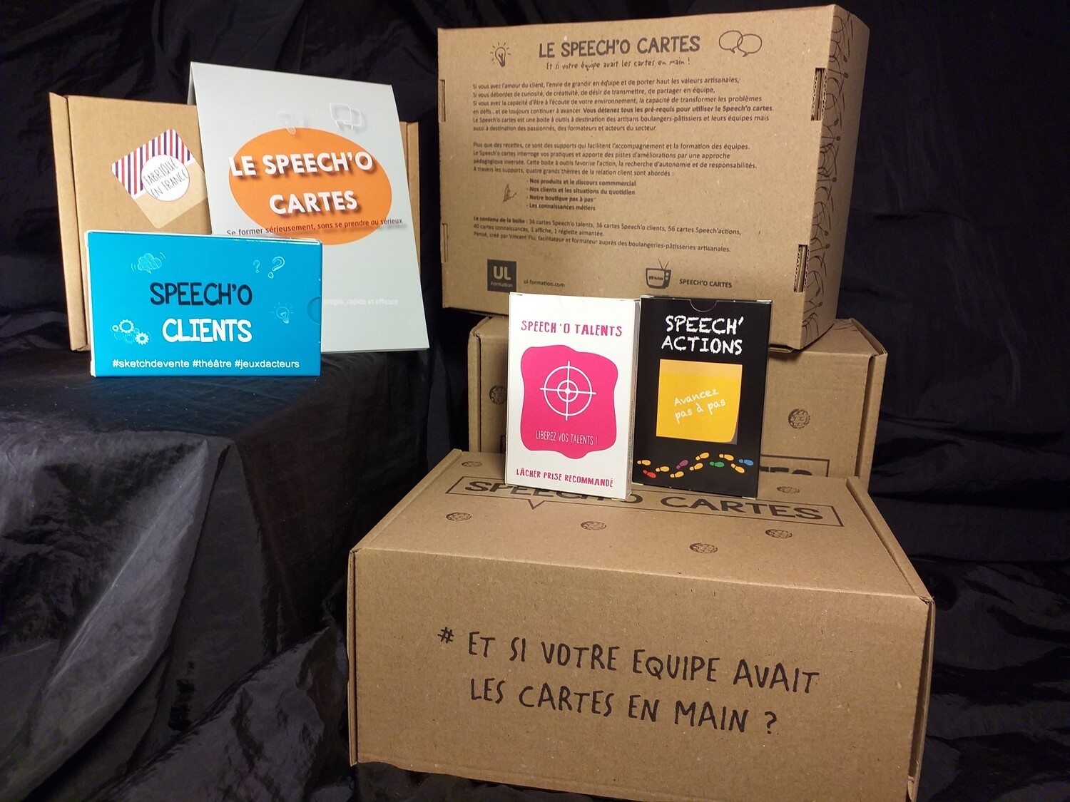 KIT COMPLET SPEECH'O CARTES