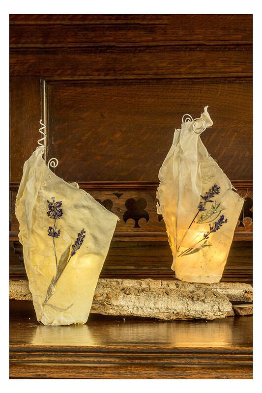 WunschLicht - Lavendelblüten