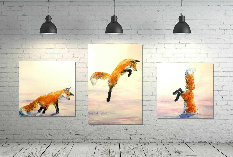 Print: Fox Hunt