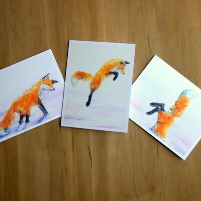 Fox Hunt Greeting Cards (Set of 6)