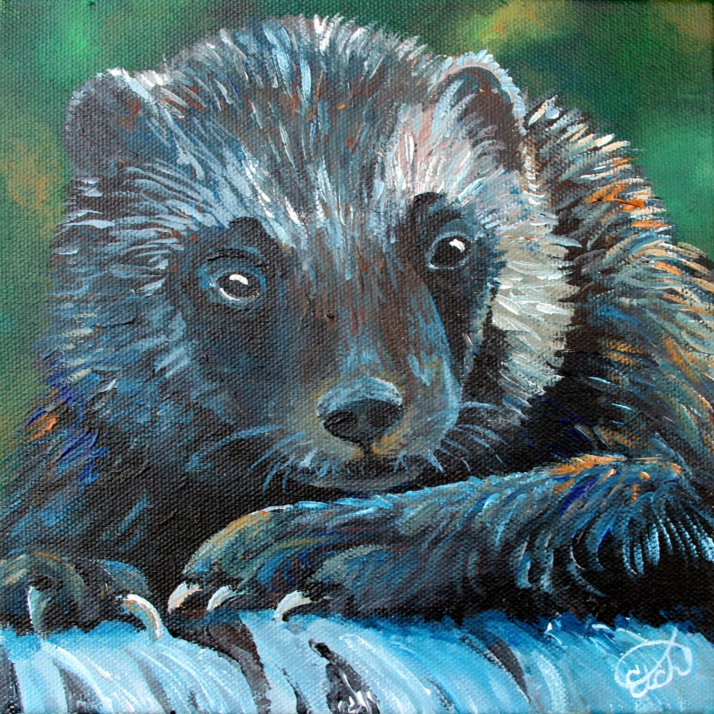 Wolverine Mini Painting!