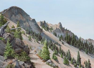 PRINT: Devil's Peak Oregon