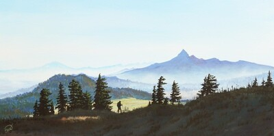 Print: Mount Theilsen