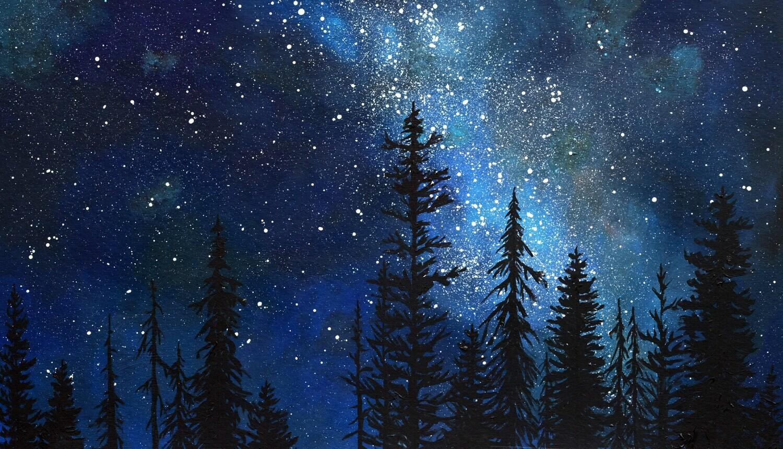 PRINT: Starry Night