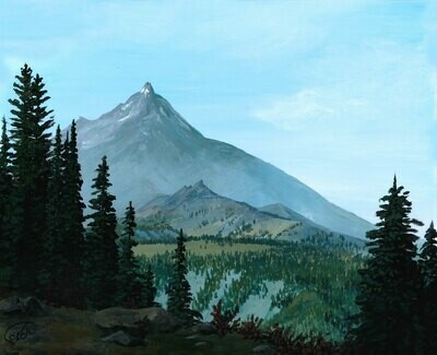 Print: Mount Jefferson