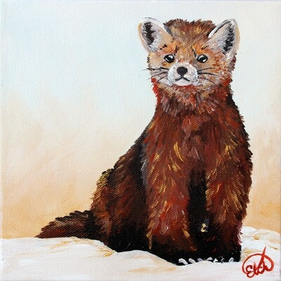 Available at ART FOCUS Gallery: Pine Marten Mini!
