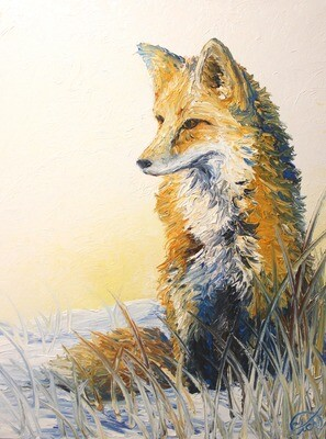 """Available through ART FOCUS GALLERY: Morning Contemplations (18""""x24"""")"""