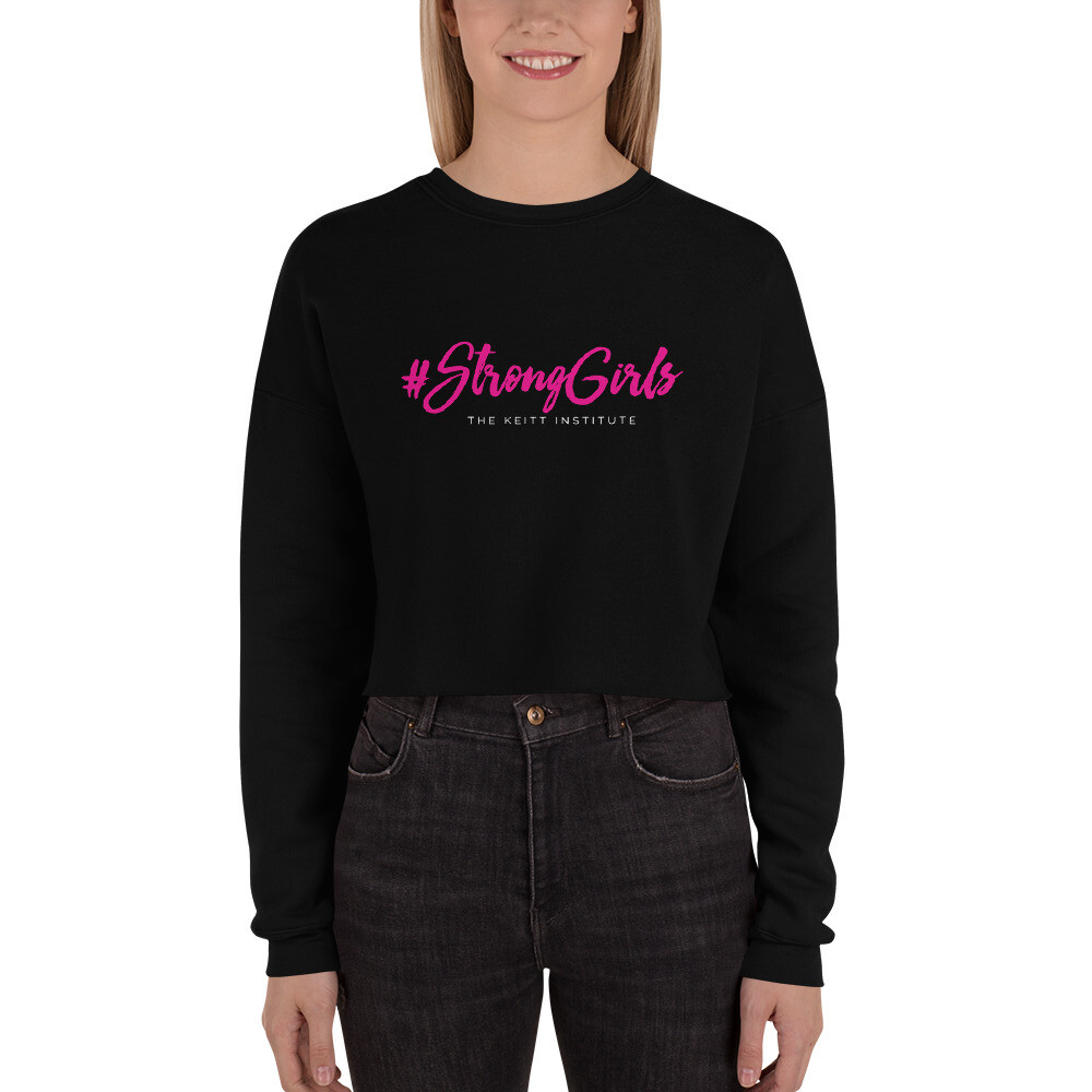 #StrongGirls Crop Sweatshirt