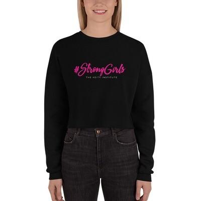 #StrongGirls Crop Sweatshirt