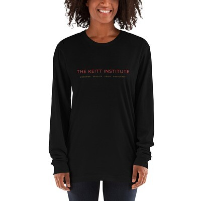 Keitt Institute Red & Gold Logo Long Sleeve Shirt