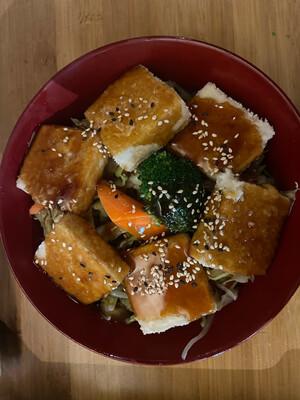 82. Tofu Donburi