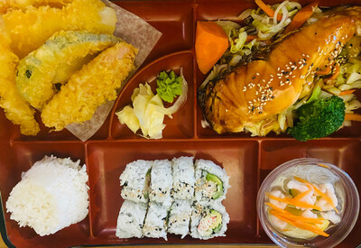 201. Salmon Dinner Box