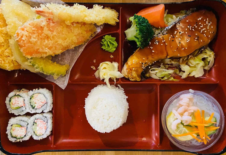 193. Salmon Lunch Box