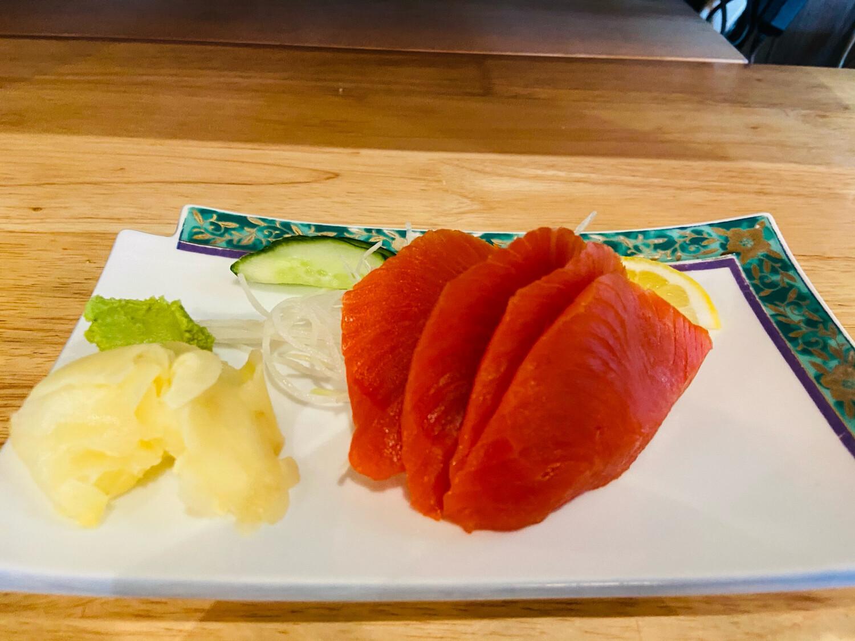 127. Salmon Sashimi