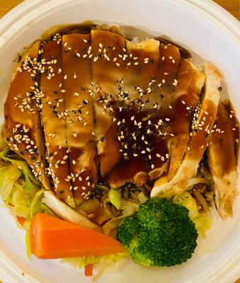 78. Chicken Teriyaki Donburi